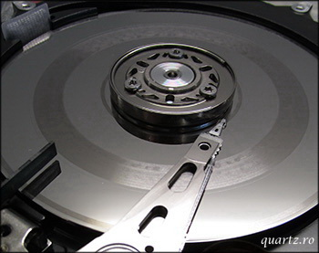 Disk cu suprafata deteriorata